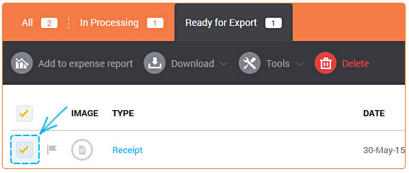 How Do I Create An Expense Report  Receipt Bank